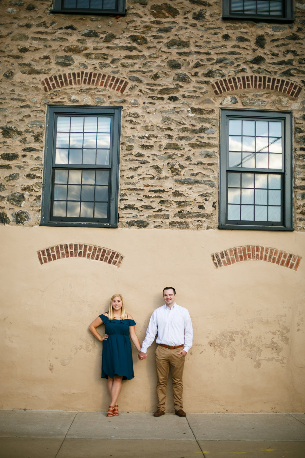 Manayunk Philadelphia Canal Summer Engagement Session 39