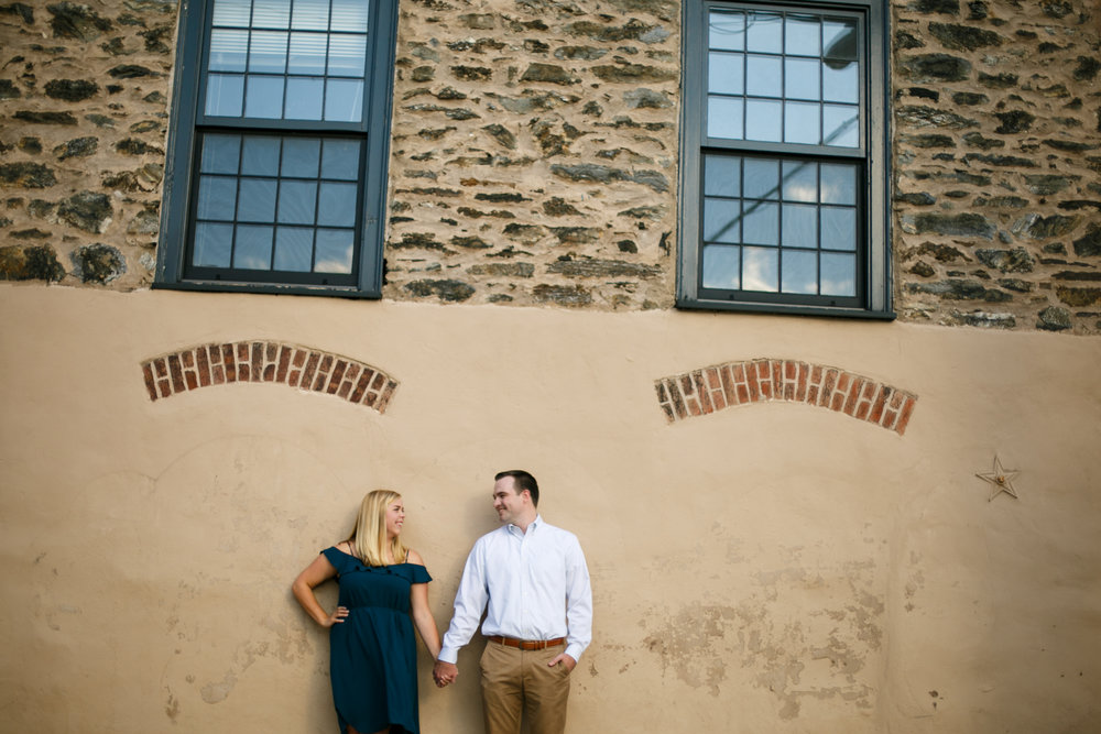 Manayunk Philadelphia Canal Summer Engagement Session 5