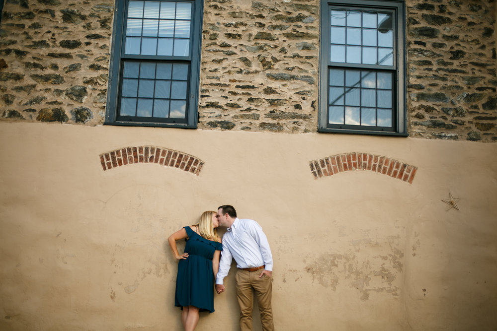 Manayunk Philadelphia Canal Summer Engagement Session 38