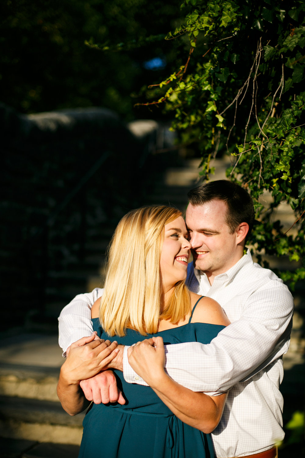 Manayunk Philadelphia Canal Summer Engagement Session 35