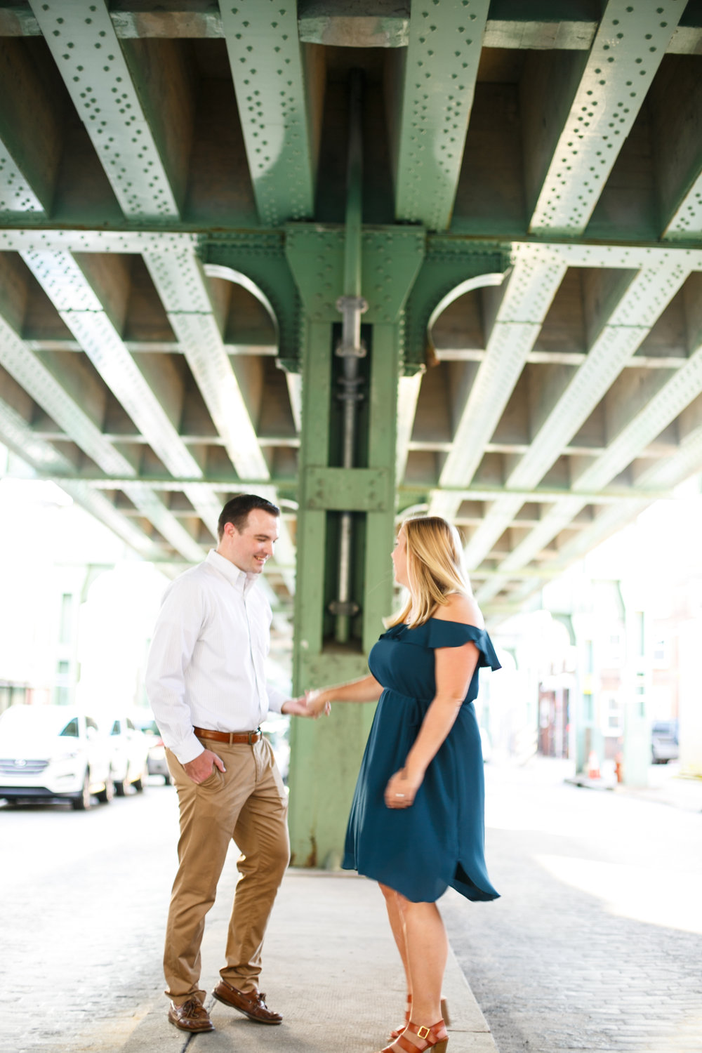 Manayunk Philadelphia Canal Summer Engagement Session 9