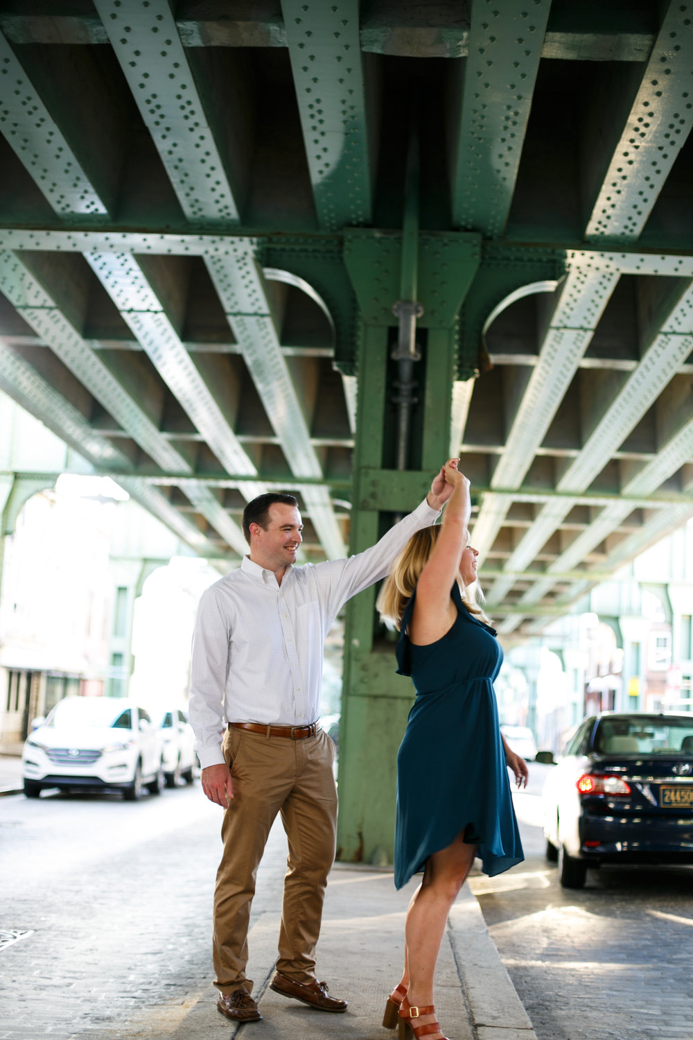 Manayunk Philadelphia Canal Summer Engagement Session 34