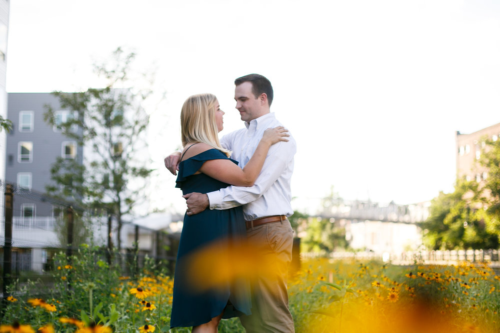 Manayunk Philadelphia Canal Summer Engagement Session 33