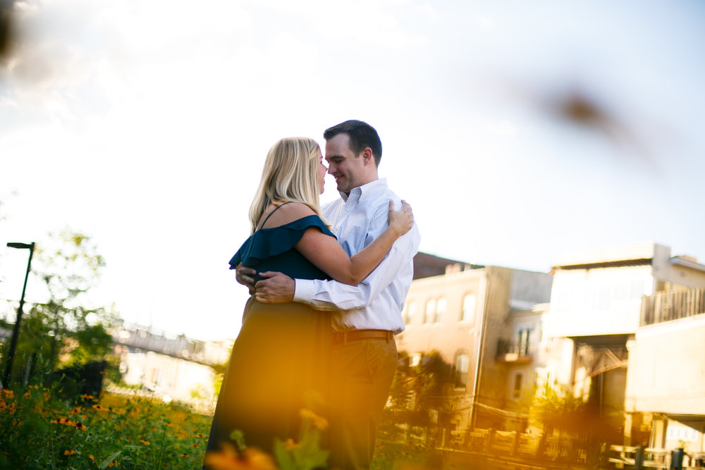 Manayunk Philadelphia Canal Summer Engagement Session 11