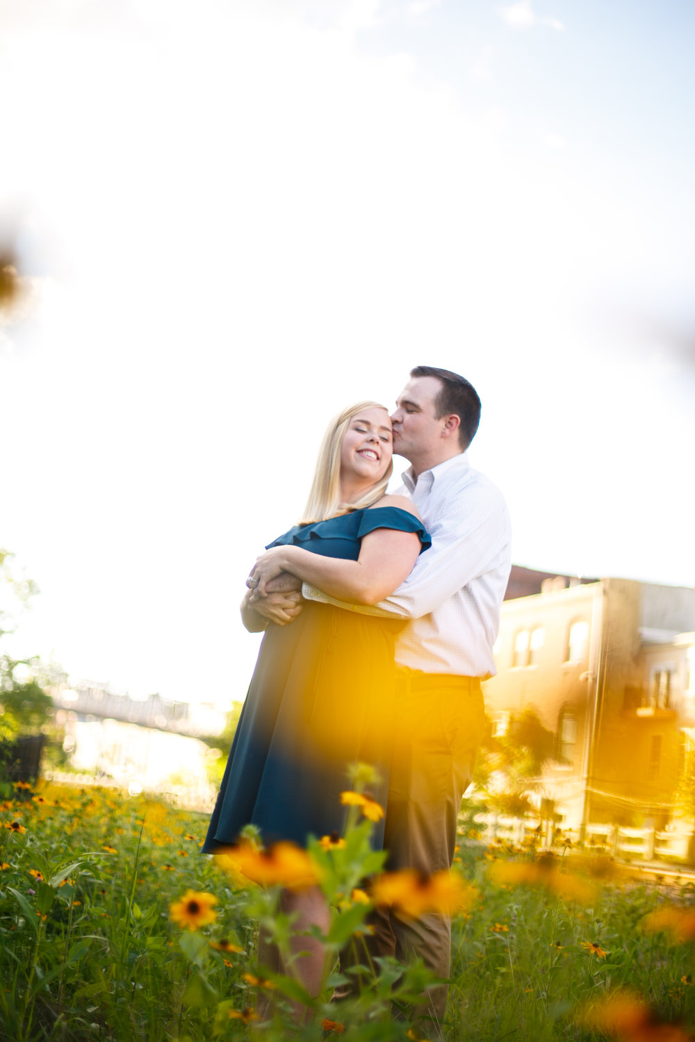 Manayunk Philadelphia Canal Summer Engagement Session 32