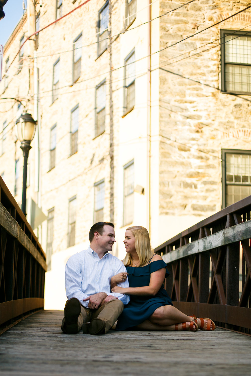 Manayunk Philadelphia Canal Summer Engagement Session 12