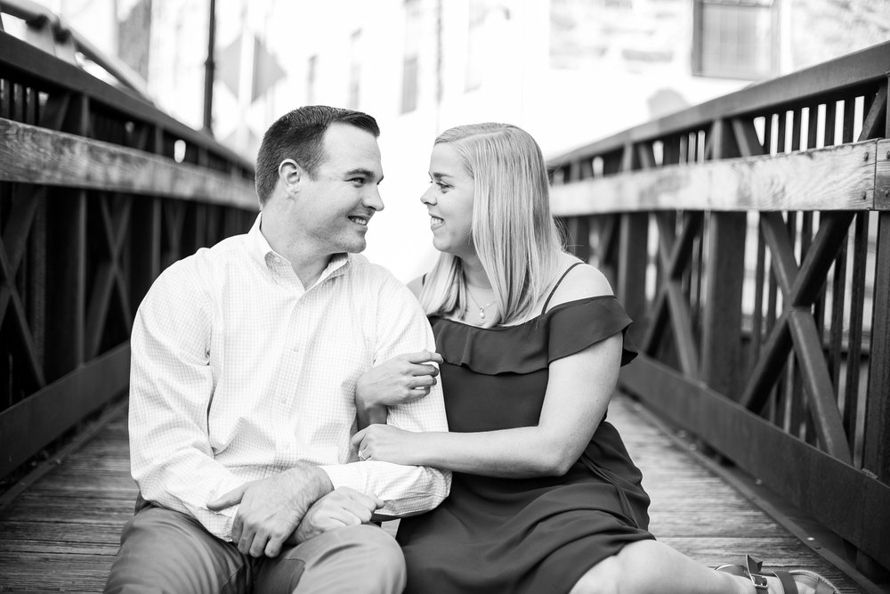 Manayunk Philadelphia Canal Summer Engagement Session 31