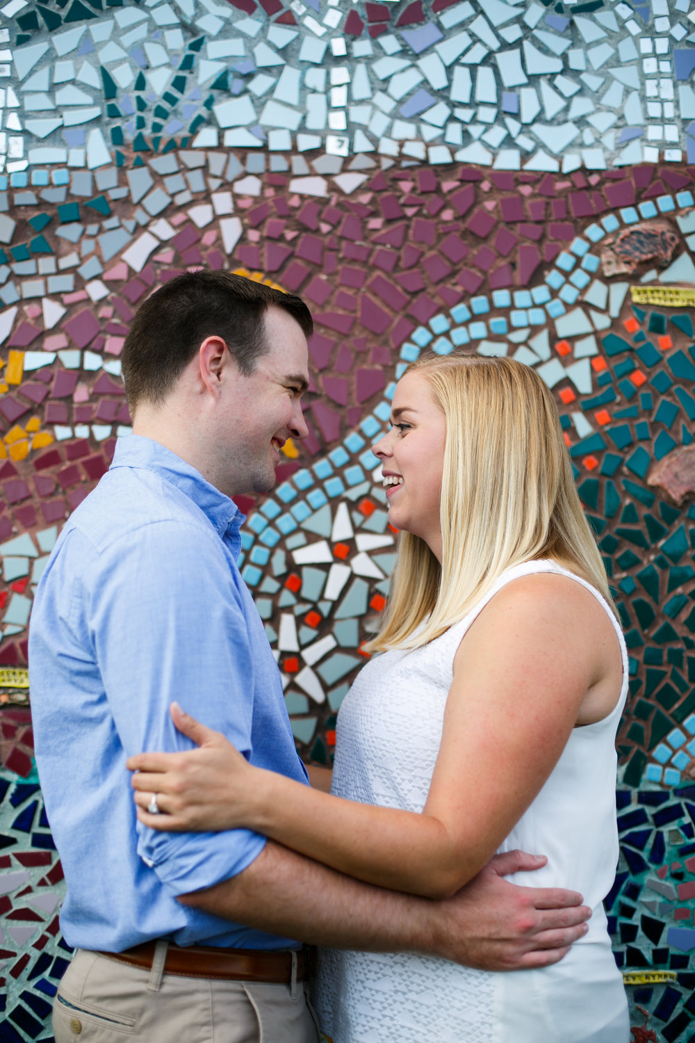 Manayunk Philadelphia Canal Summer Engagement Session 30