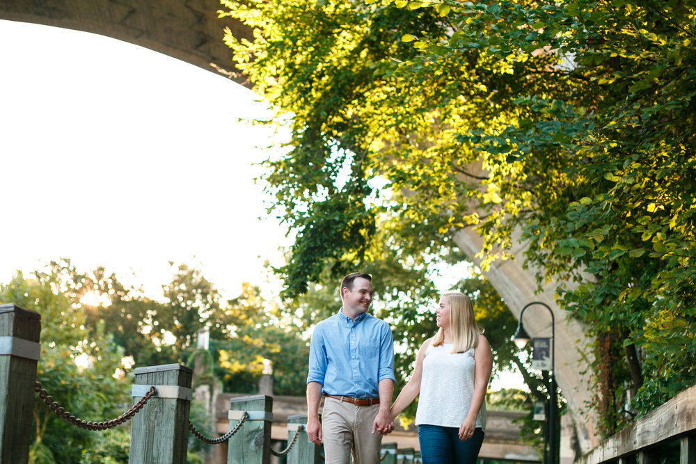 Manayunk Philadelphia Canal Summer Engagement Session 17