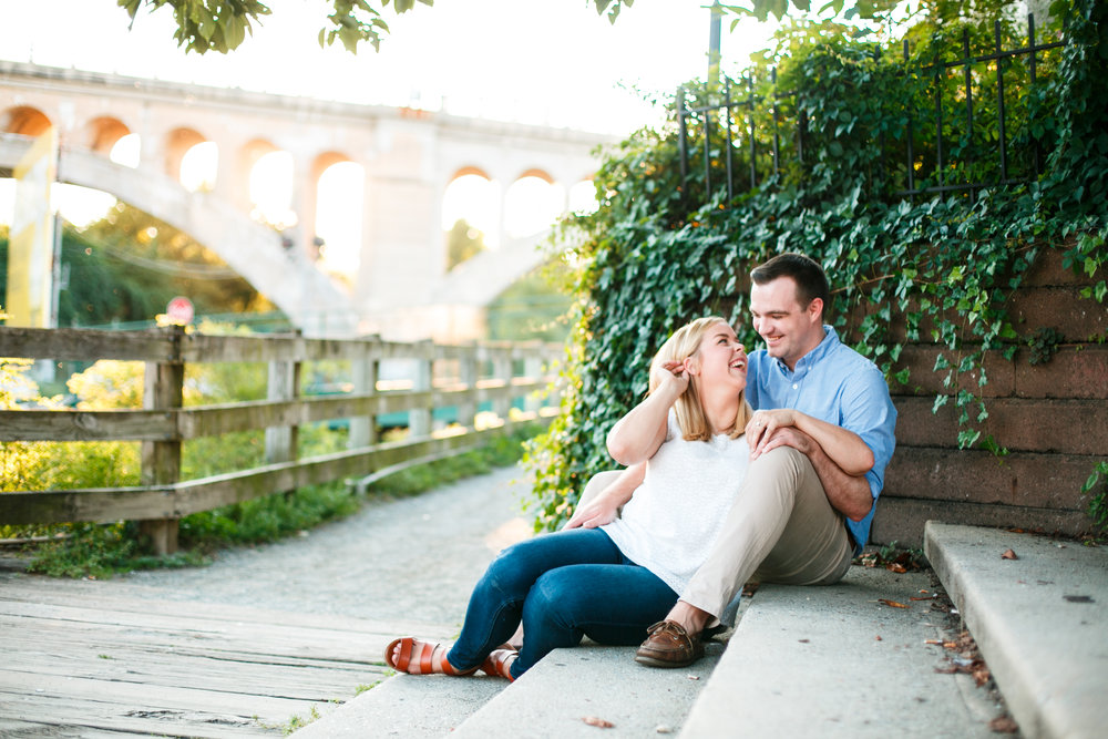 Manayunk Philadelphia Canal Summer Engagement Session 19