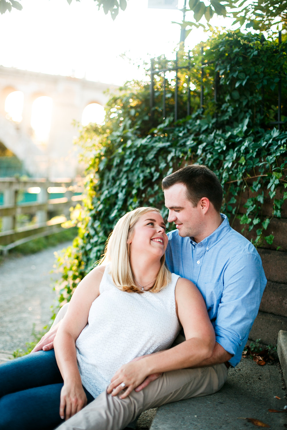 Manayunk Philadelphia Canal Summer Engagement Session 24