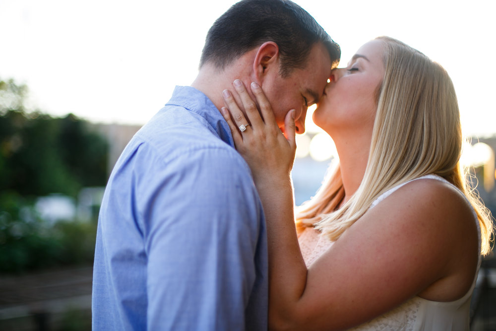 Manayunk Philadelphia Canal Summer Engagement Session 23