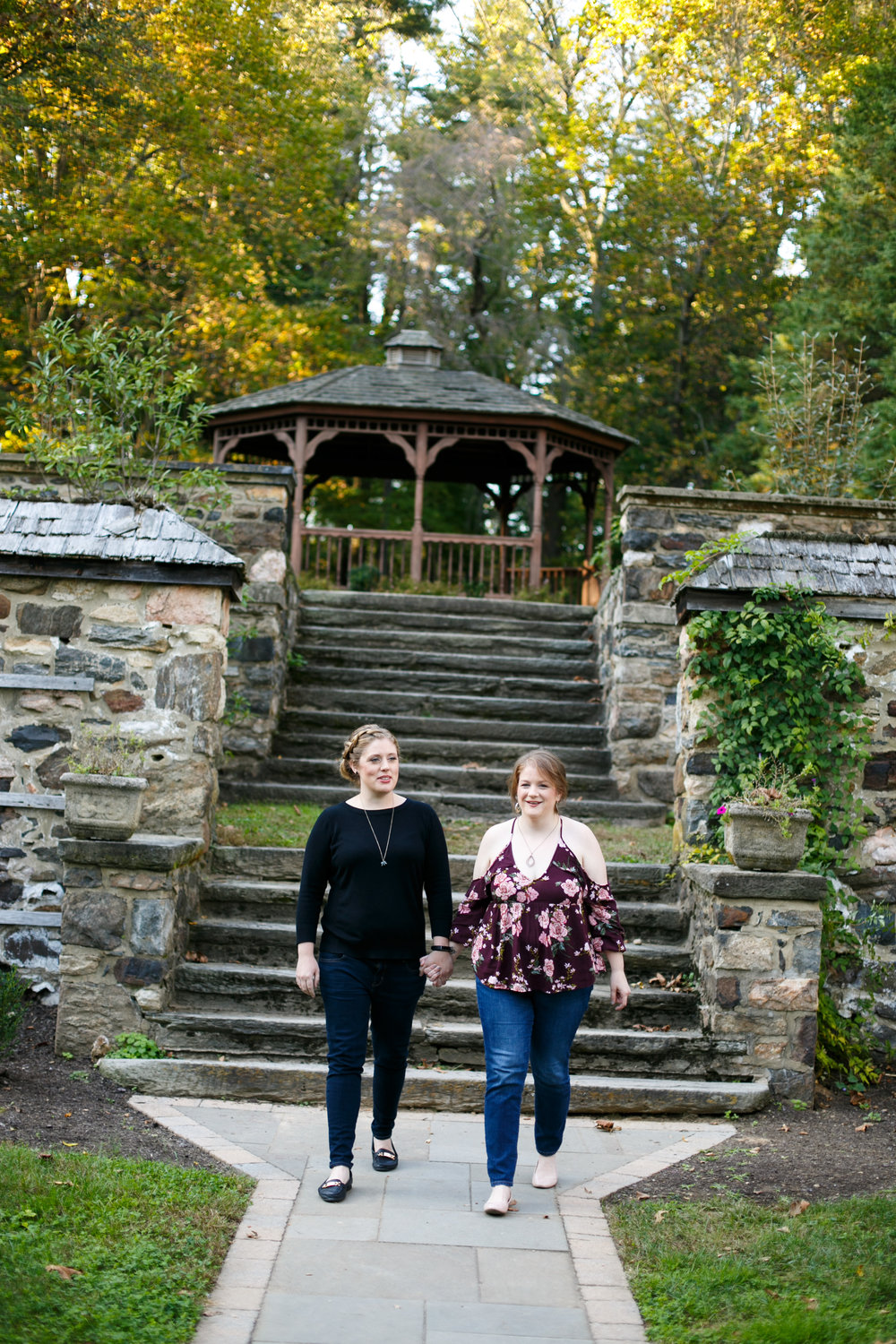 Ridley Creek State Park Engagement Session with LGBTQ Couple 2