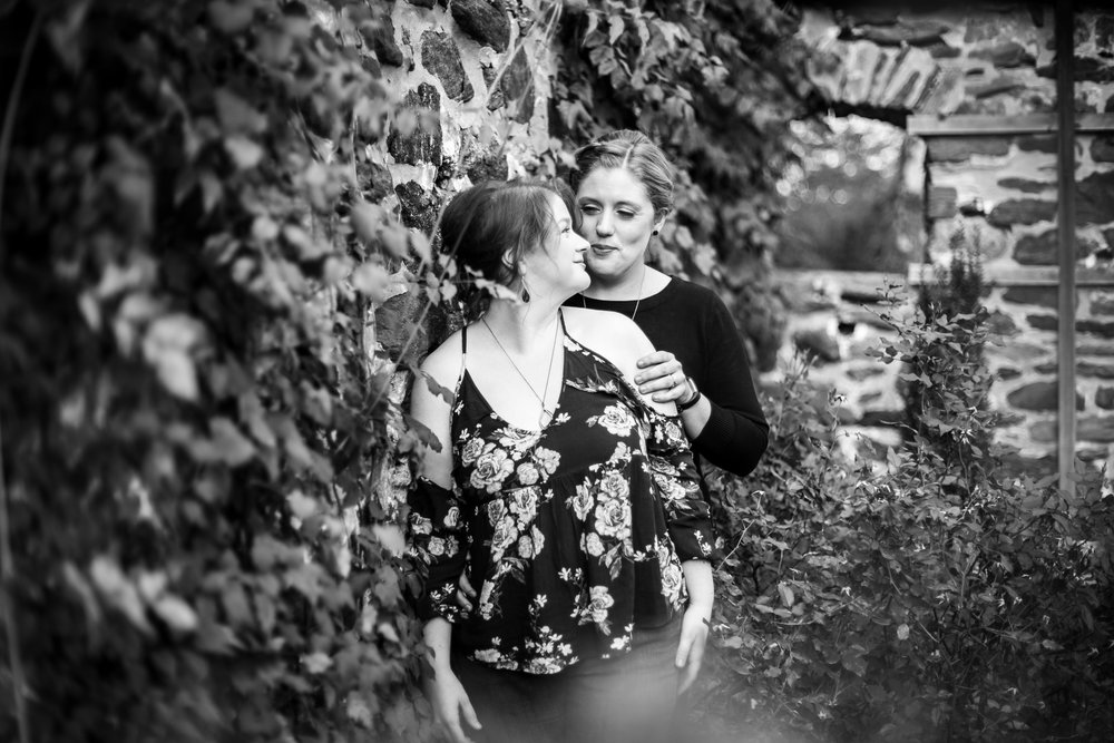 Ridley Creek State Park Engagement Session with LGBTQ Couple 4