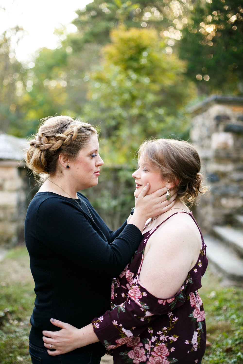 LGBTQ Posing for Lesbian Engagement Session 8