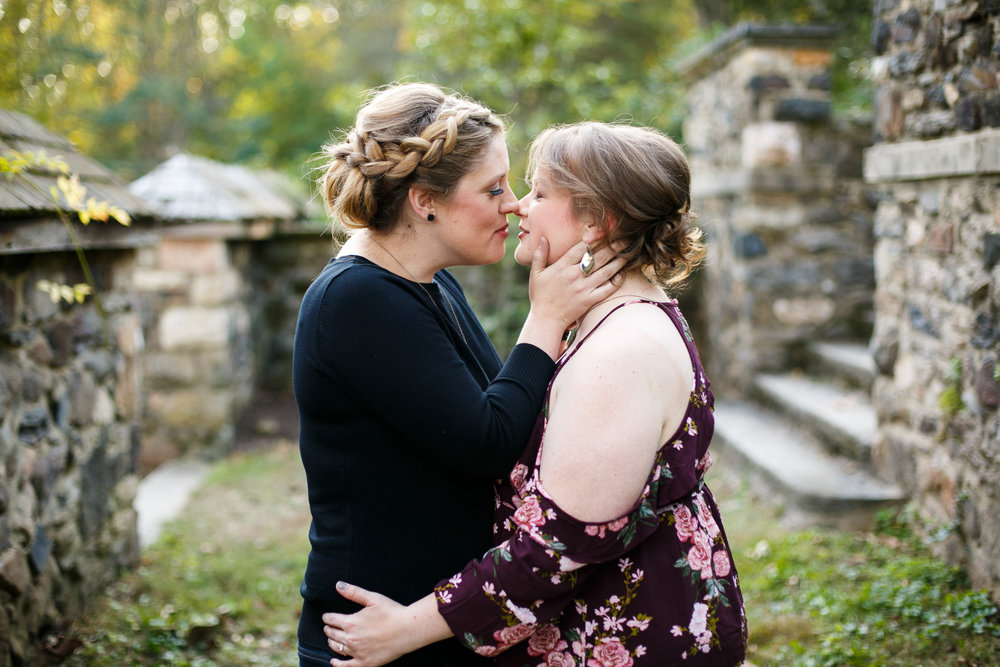 Ridley Creek State Park Engagement Session with LGBTQ Couple 8