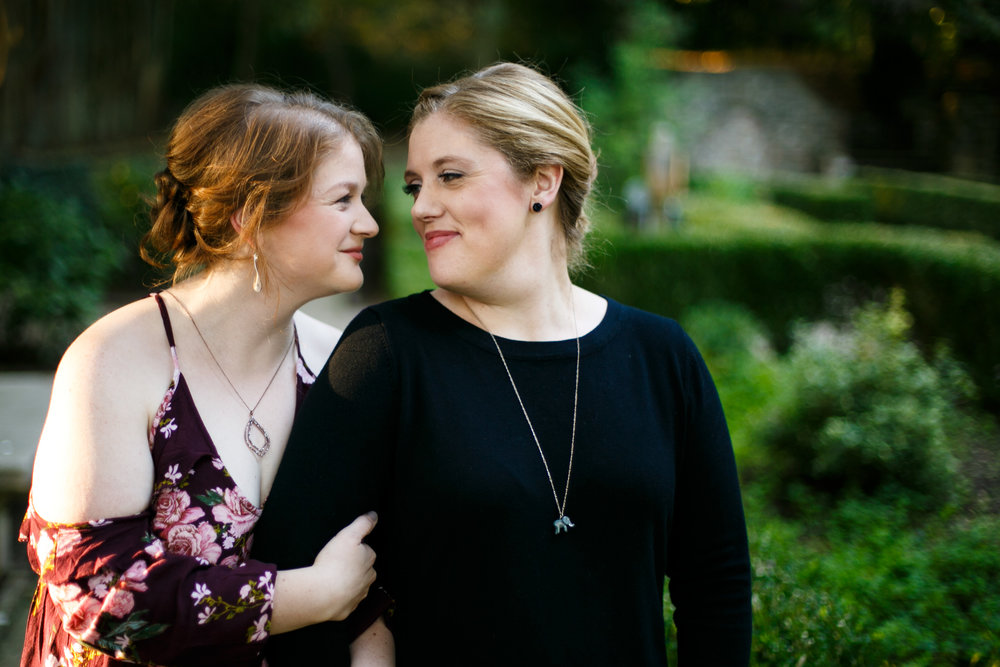 LGBTQ Posing for Lesbian Engagement Session 10