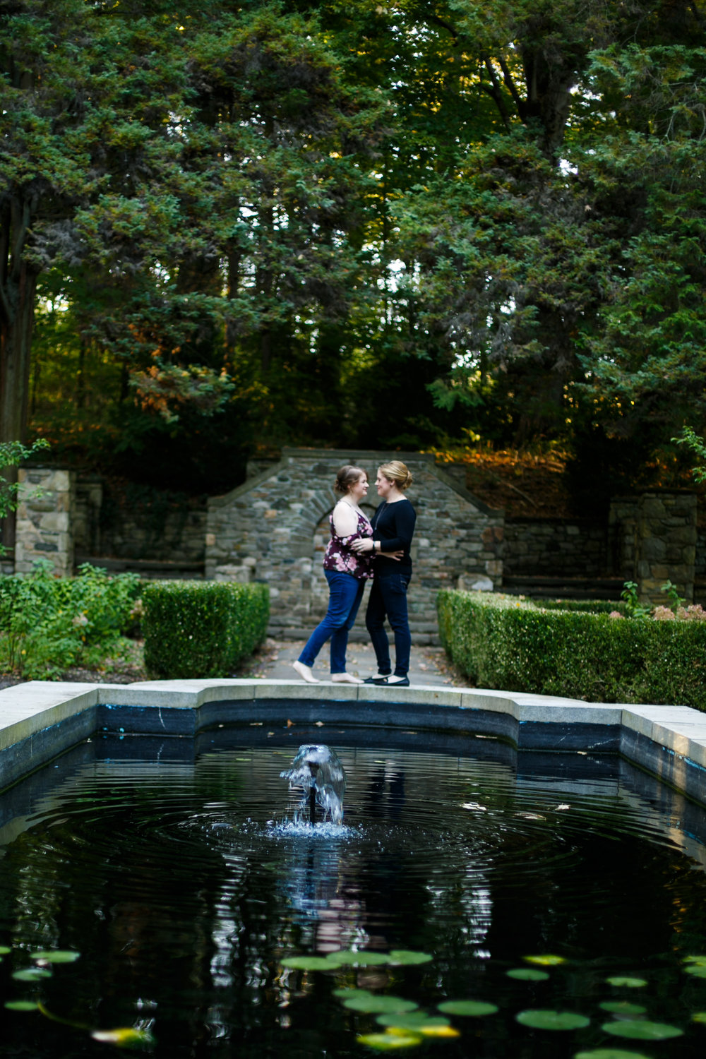 Ridley Creek State Park Engagement Session with LGBTQ Couple 10