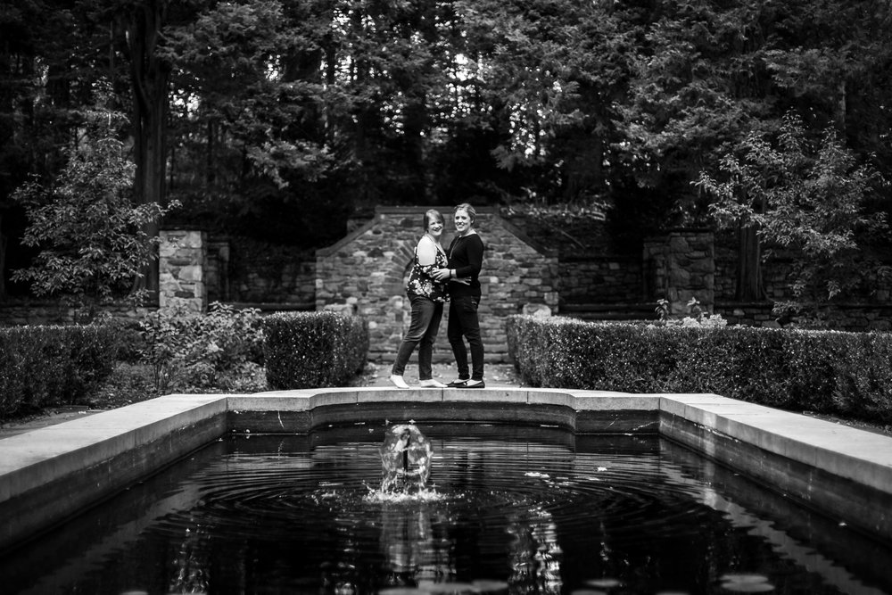 Ridley Creek State Park Engagement Session with LGBTQ Couple 11