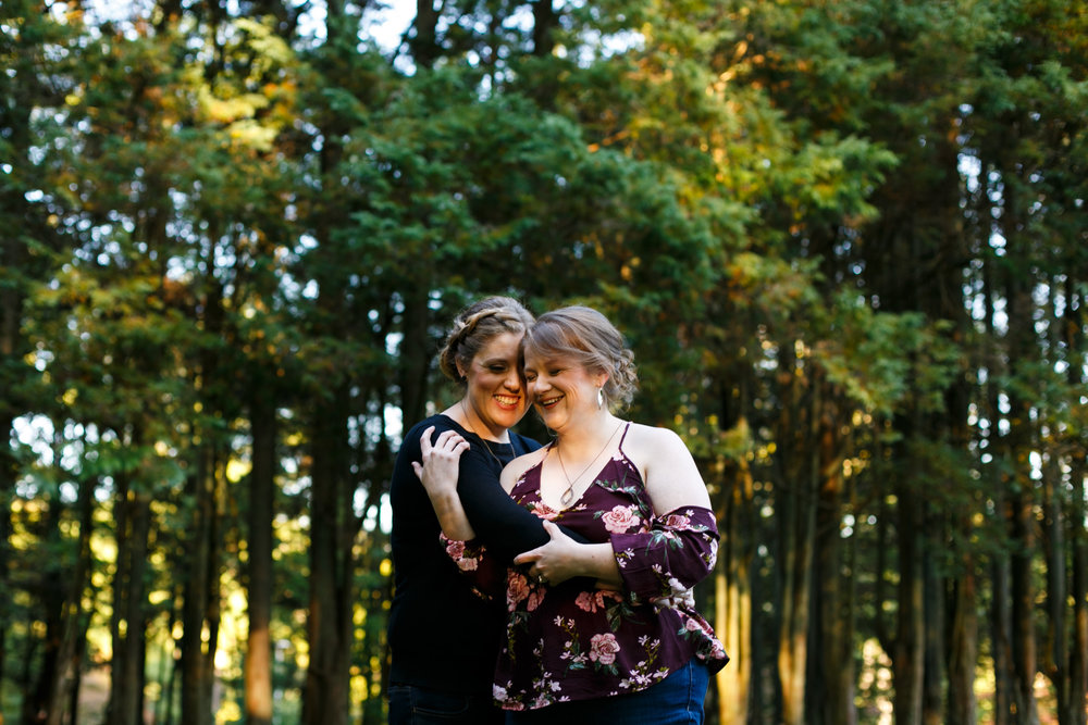Ridley Creek State Park Engagement Session with LGBTQ Couple 12