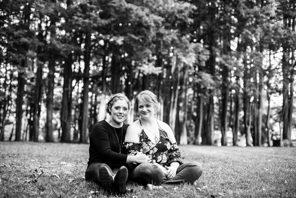 Ridley Creek State Park Engagement Session with LGBTQ Couple 13