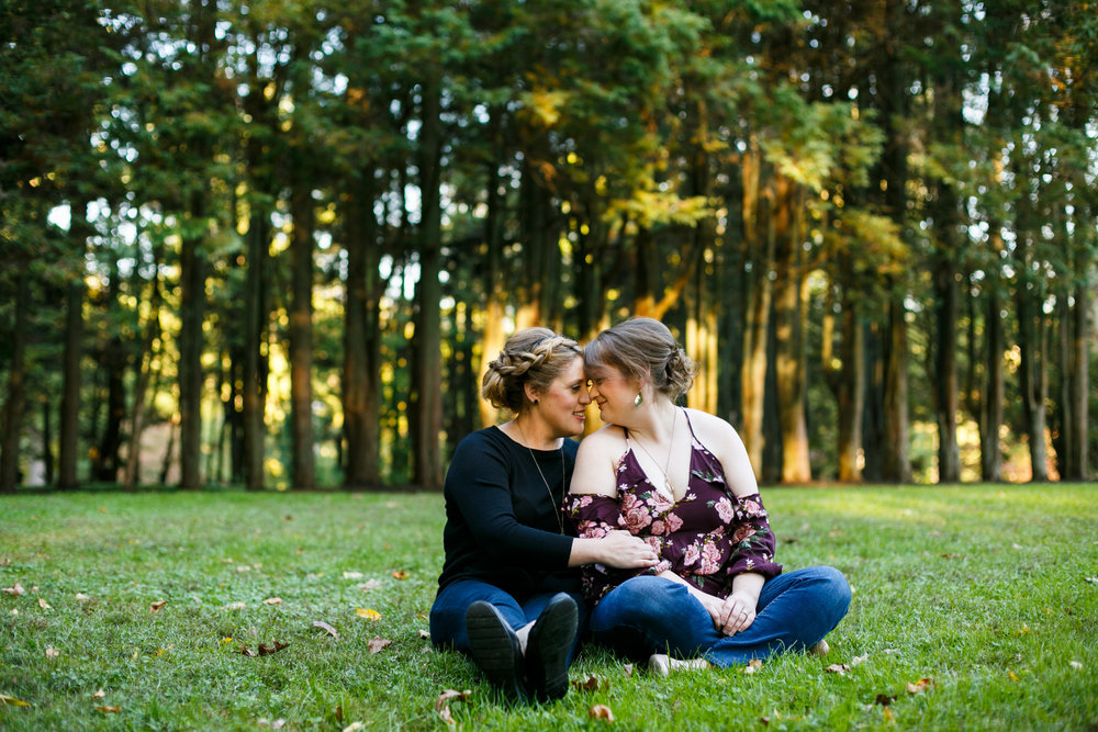 Ridley Creek State Park Engagement Session with LGBTQ Couple 14