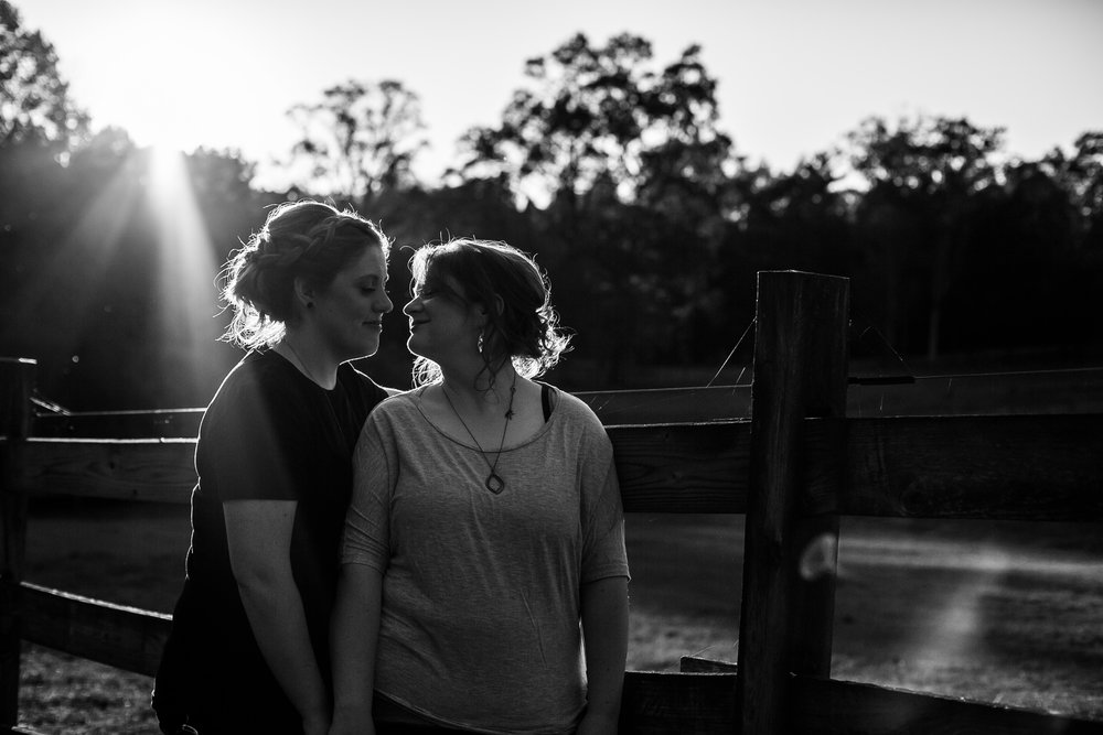 LGBTQ Posing for Lesbian Engagement Session 20