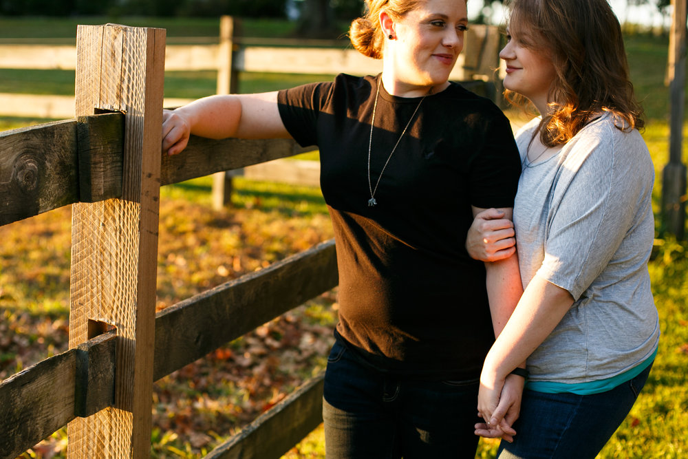 Ridley Creek State Park Engagement Session with LGBTQ Couple 21