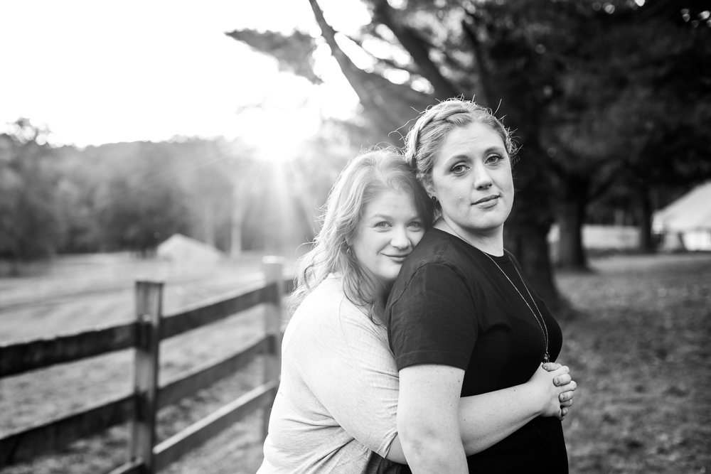 Fall Engagement Shoot Lesbian Couple at Ridley Creek Park 22