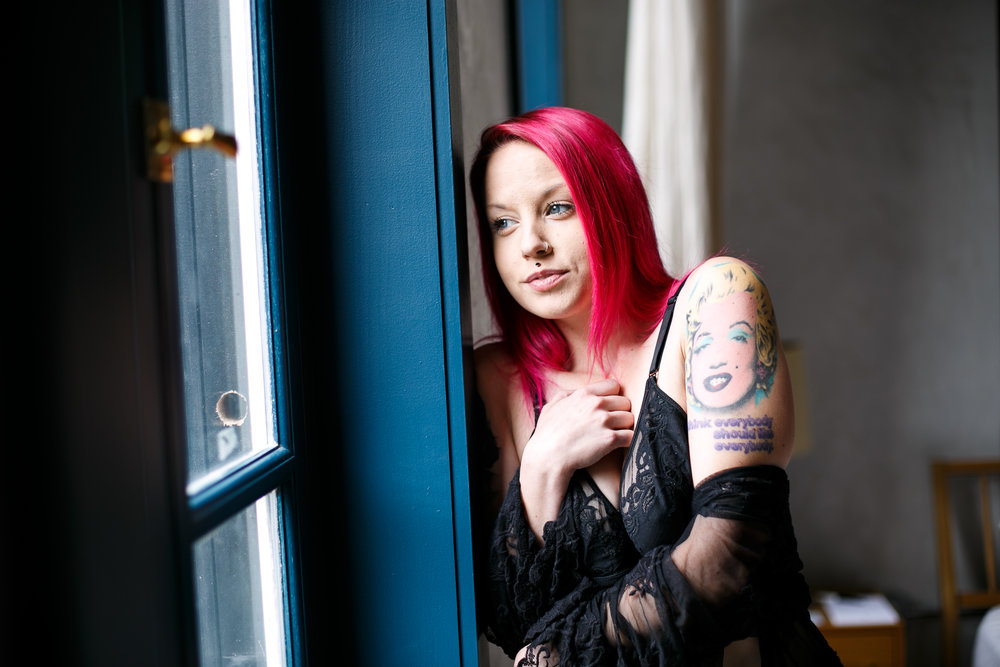 Philadelphia Burlesque Photographer Boudoir at Lokal Hotel 4