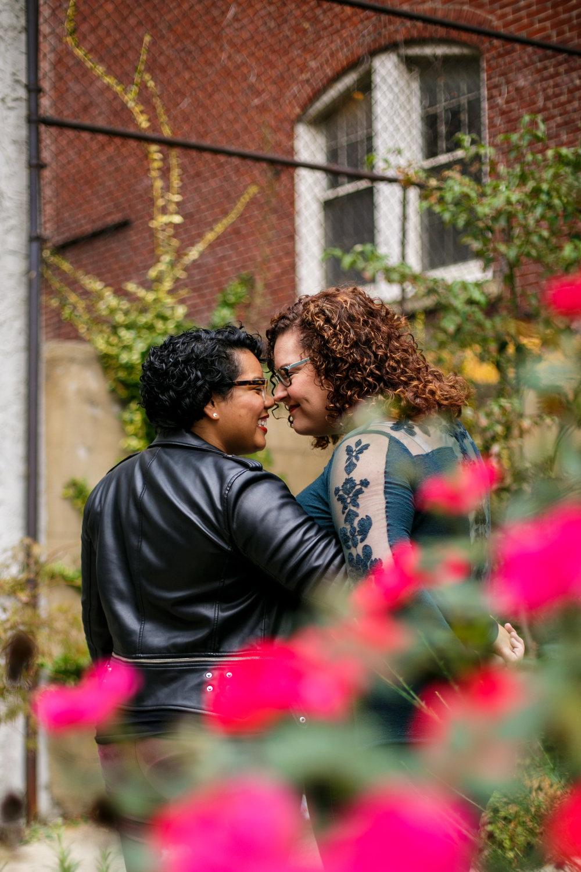 South Street Philadelphia LGBT Engagement Session 7