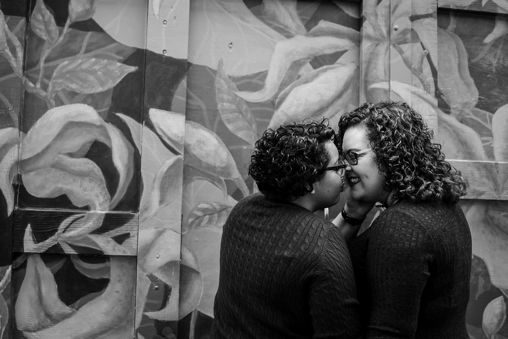 Magic Gardens Philadelphia LGBTQ Engagement Session 11