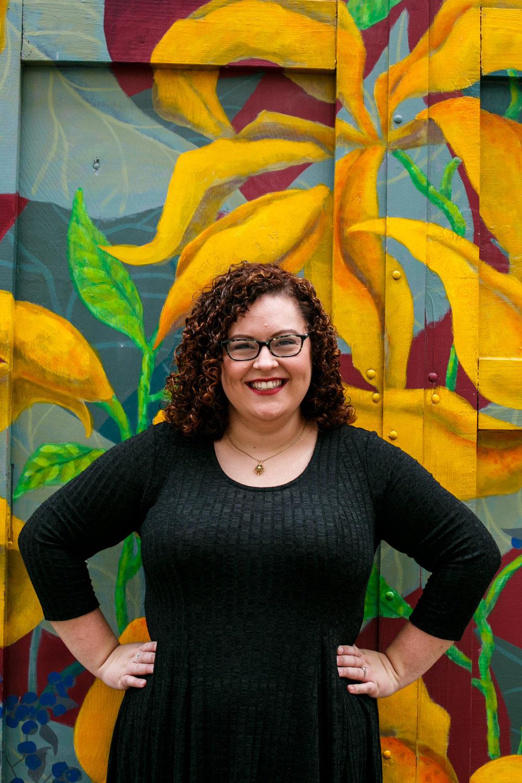 Philly Lesbian Photographer Magic Gardens Engagement Shoot 11