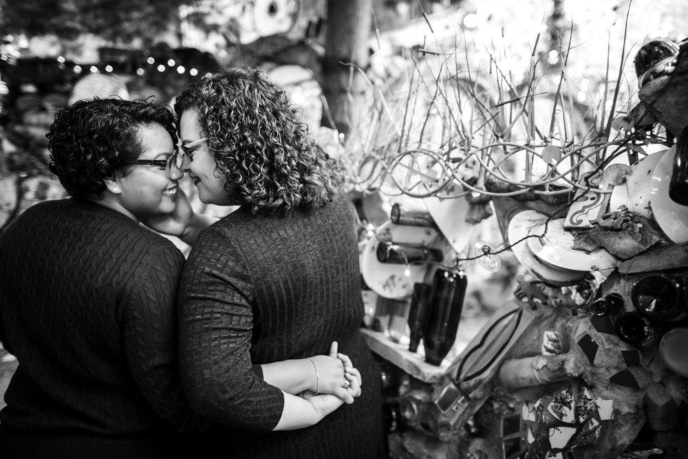 Magic Gardens Philadelphia LGBTQ Engagement Session 19
