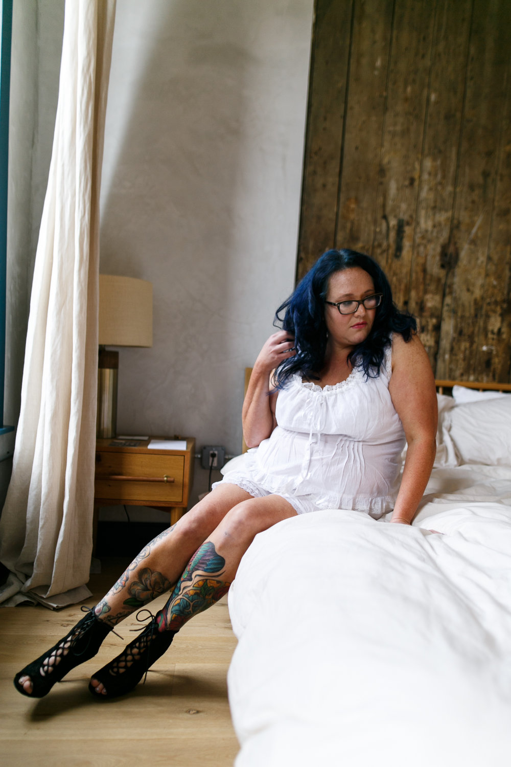 Philly Plus Size Boudoir Session 3