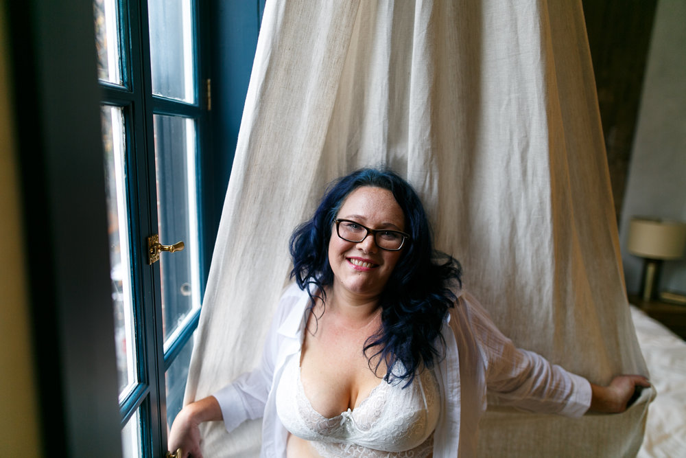 Body Positive Boudoir Photographer Philly 9