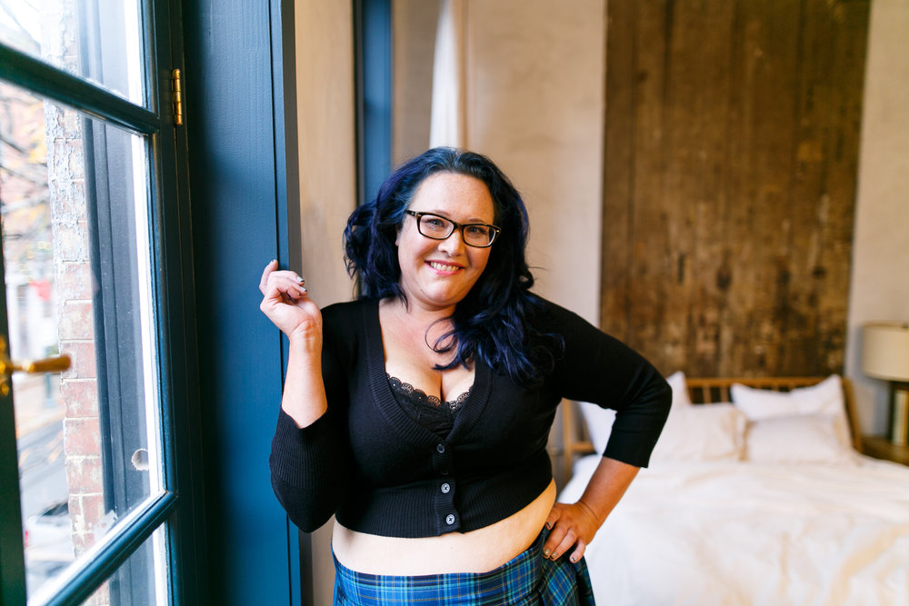 Body Positive Boudoir Photographer Philadelphia PA 4