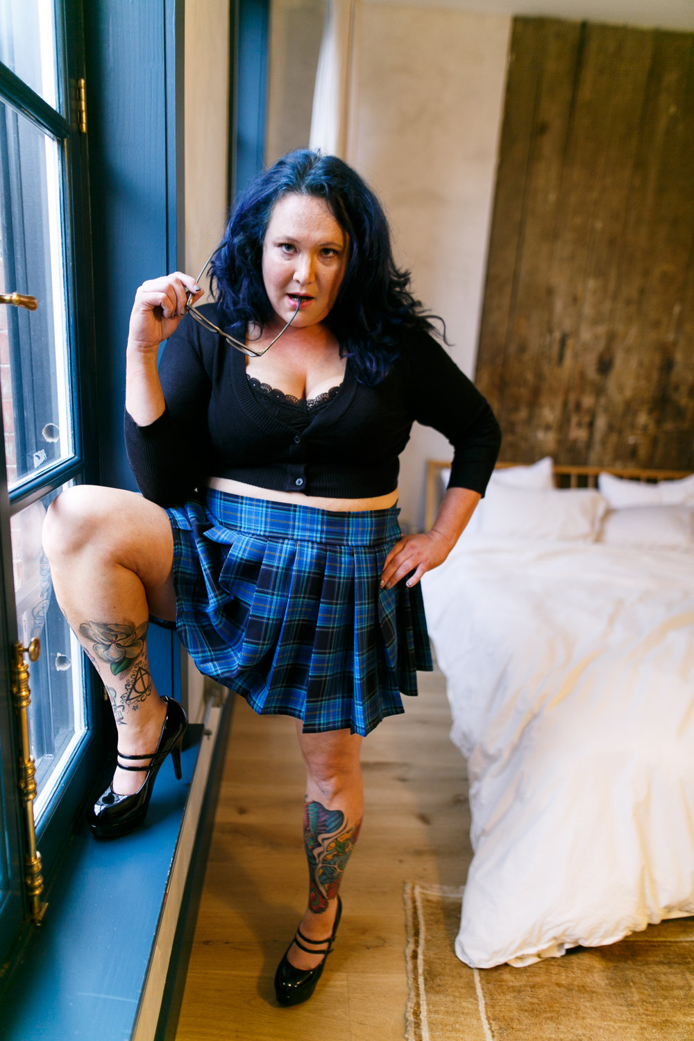 Philly Plus Size Boudoir Session 13