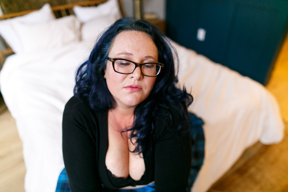 Philly Plus Size Boudoir Session 15
