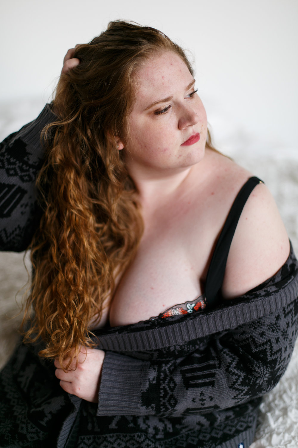 Plus Size Boudoir Photographer Philly 9