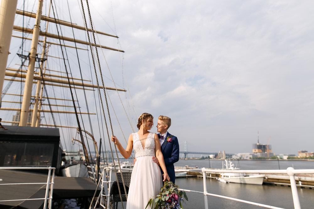 Lesbian Wedding Photographer Philadelphia