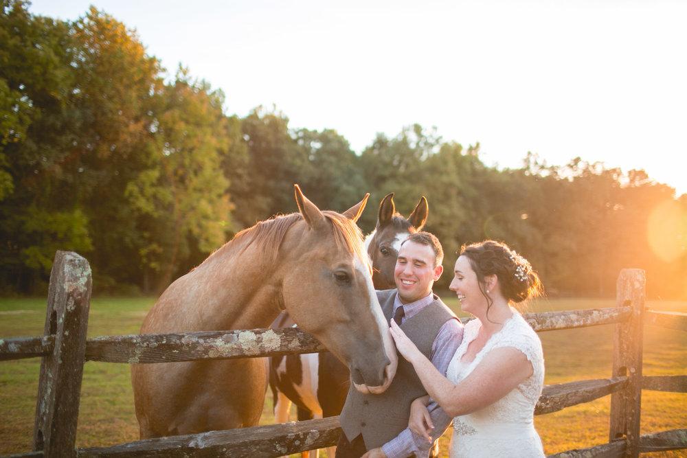 West Chester Farm Wedding Photographer