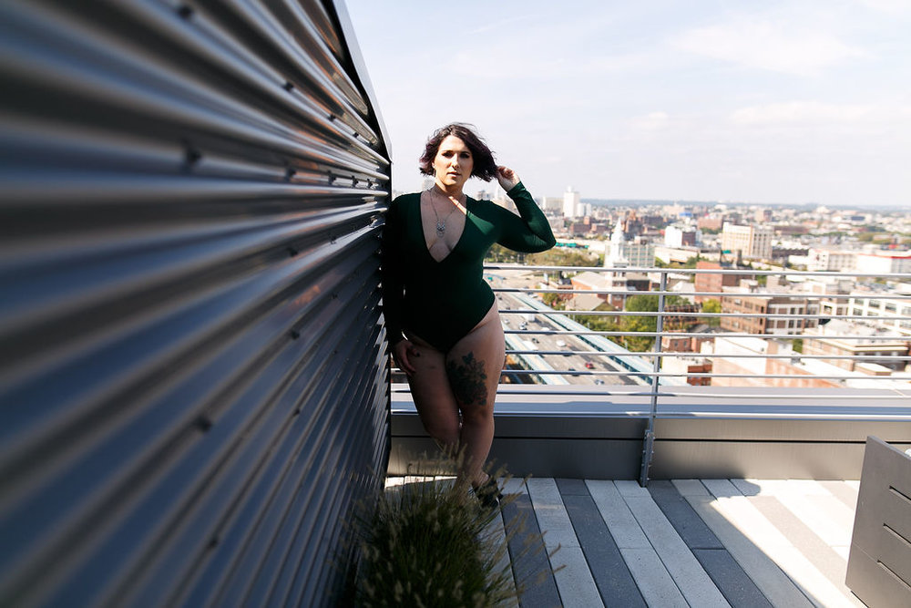 Philly Outdoor Rooftop Boudoir Session by Swiger Photography 2.jpg