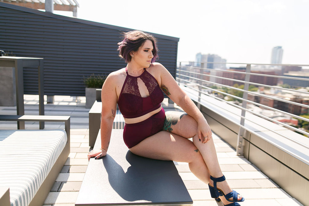 Philly Outdoor Rooftop Boudoir Session by Swiger Photography 23.jpg