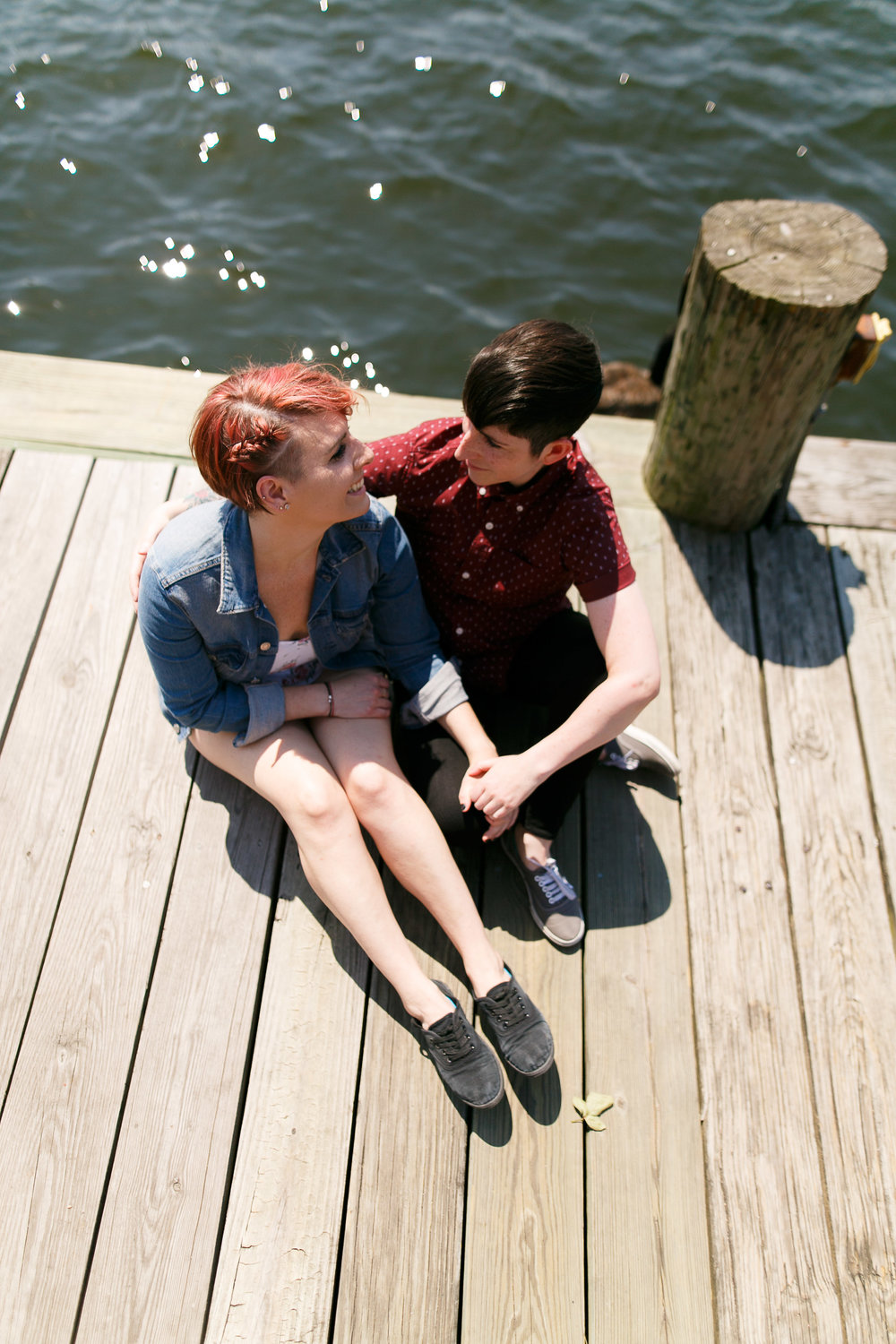 LGBTQ Baltimore Engagement Session with lesbian photographer Swiger Photography2.jpg