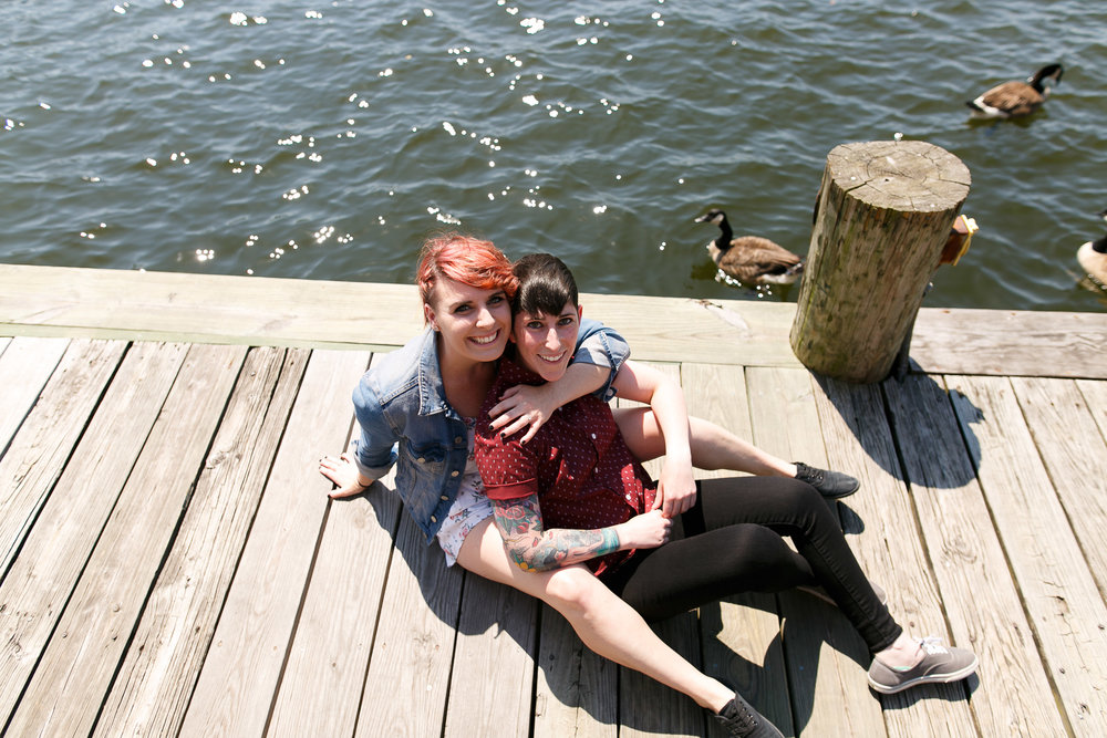 LGBTQ Baltimore Engagement Session with lesbian photographer Swiger Photography1.jpg