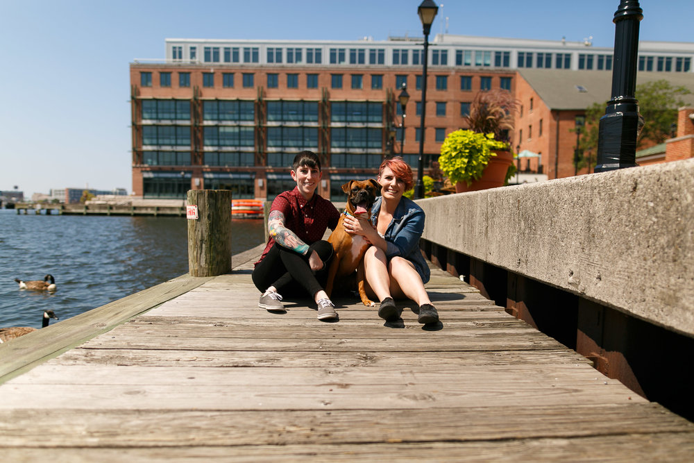 LGBTQ Baltimore Engagement Session with lesbian photographer Swiger Photography5.jpg