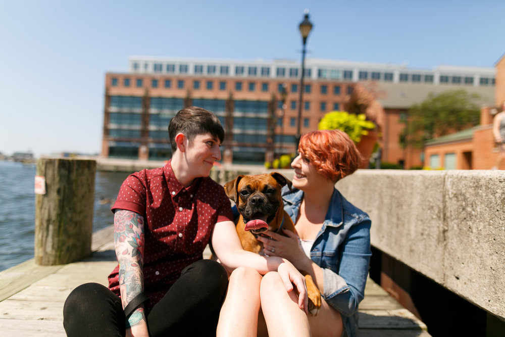 LGBTQ Baltimore Engagement Session with lesbian photographer Swiger Photography7.jpg