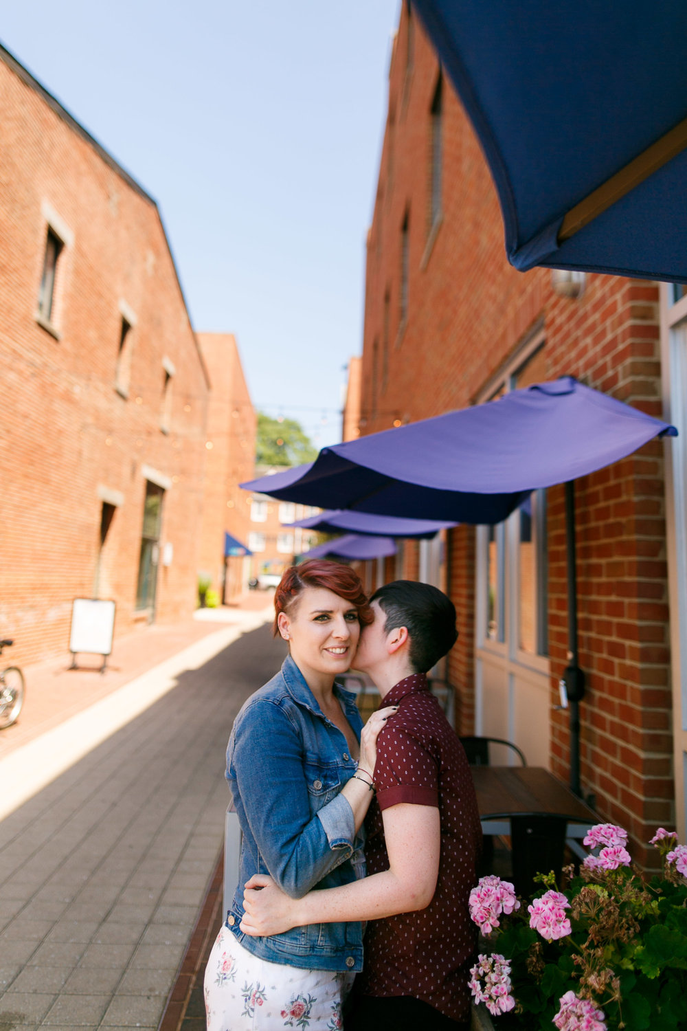 LGBTQ Baltimore Engagement Session with lesbian photographer Swiger Photography11.jpg