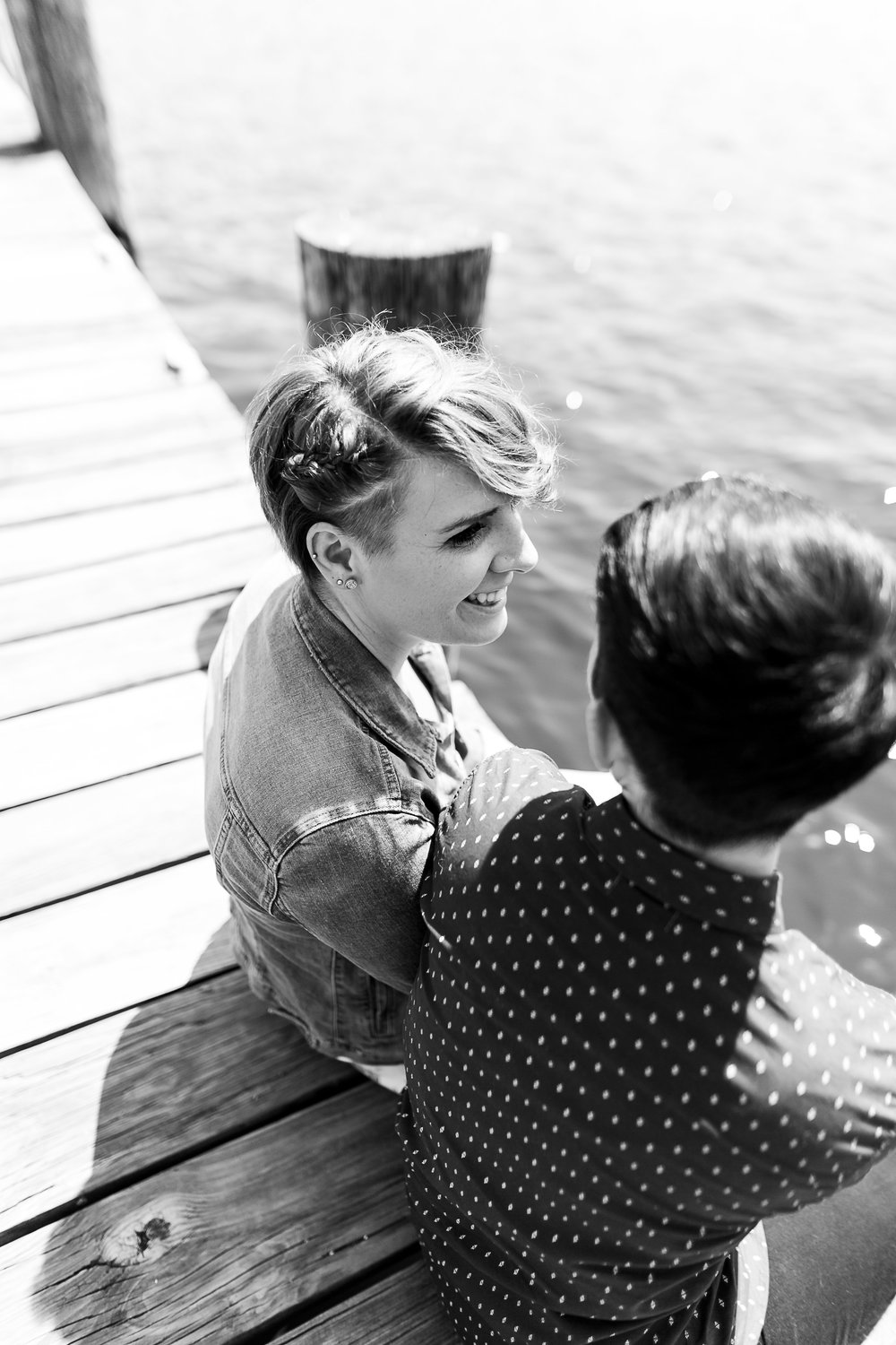 LGBTQ Baltimore Engagement Session with lesbian photographer Swiger Photography14.jpg
